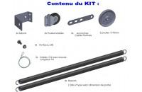 Kit d'équilibrage pour Sectio. Ress. Horizontaux Porte Hauteur Maxi 2400