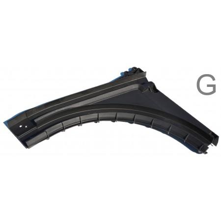 Courbes ABS pour sectionnelle (la paire)