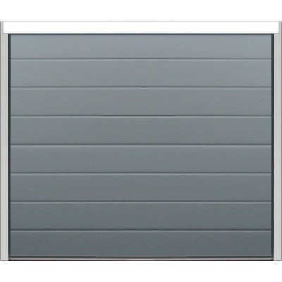 PS - Rainure/Lisse - Gris Anthracite - 40mm