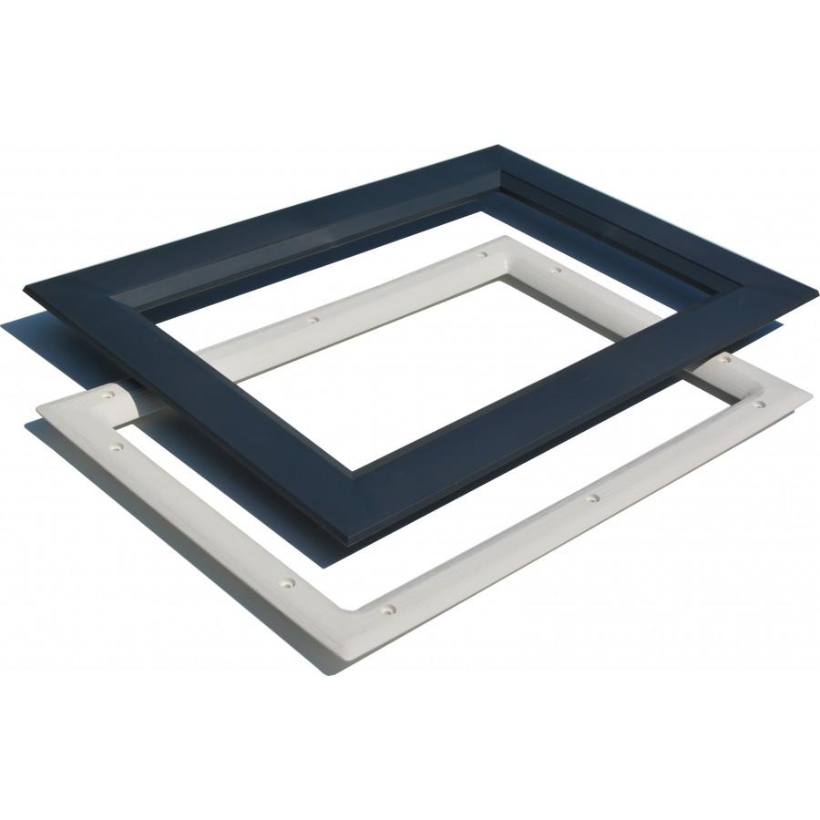hublot rectangulaire pour porte de garage. Black Bedroom Furniture Sets. Home Design Ideas