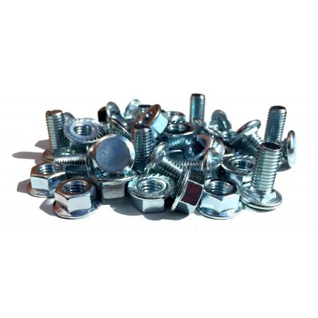 M8-Schrauben und -Muttern (Packung mit 20 Stück)