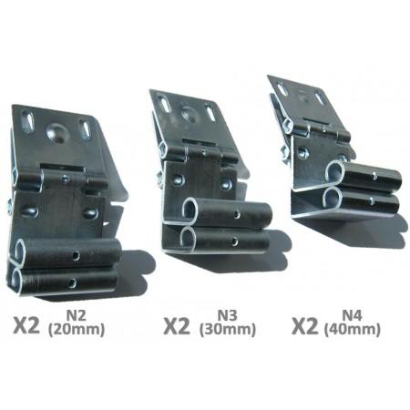 Supports Roulettes Sectionnelles Numérotés