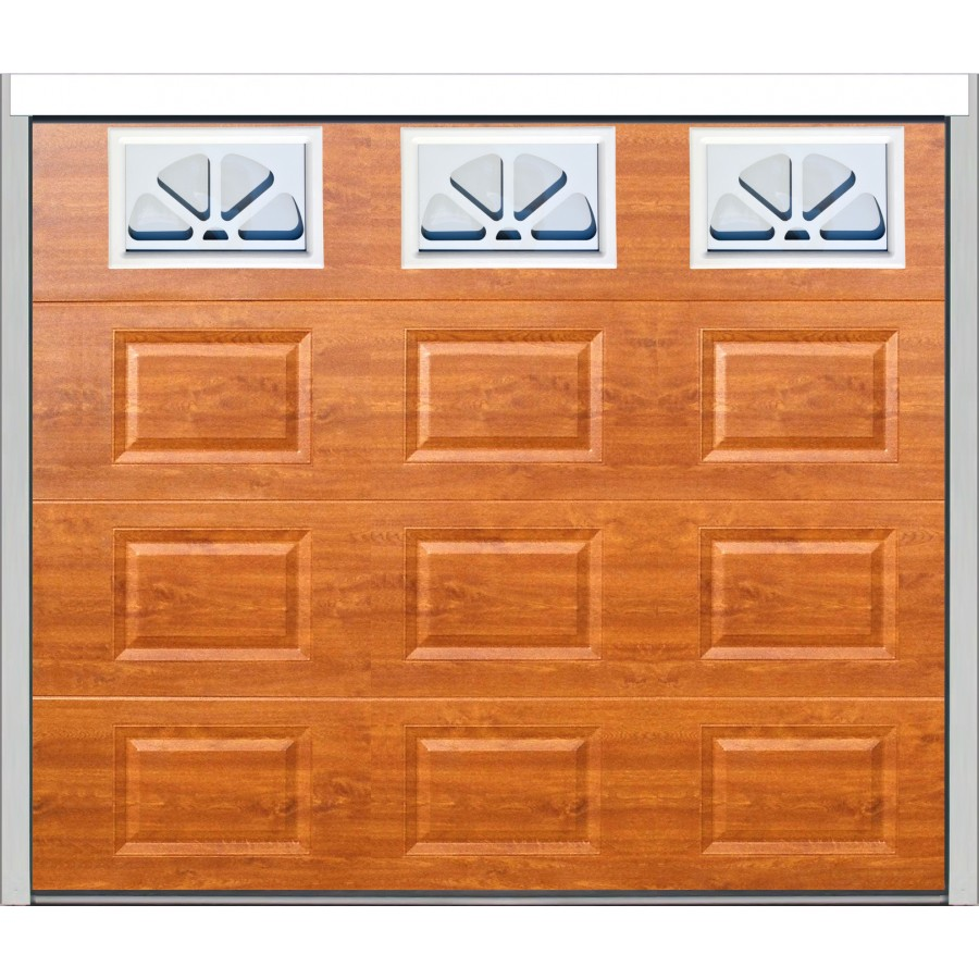 Porte sectionnelle cassette isolante ch ne dor for Porte de garage sectionnelle 200x240