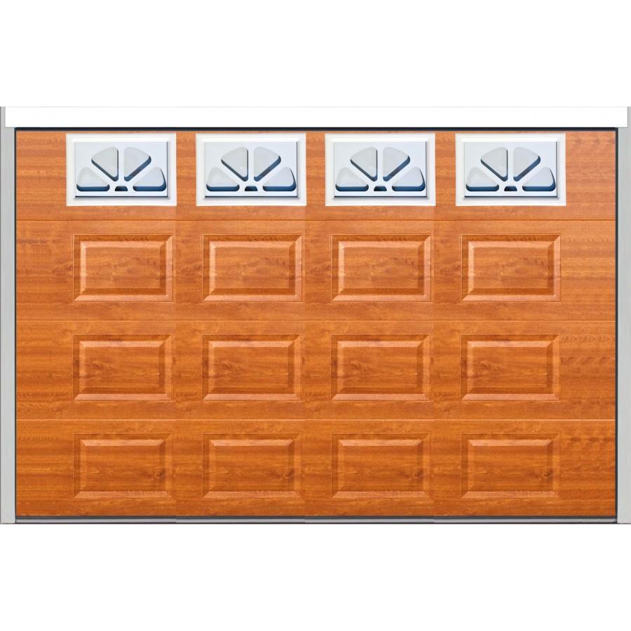 Porte sectionnelle cassette isolante ch ne dor - Porte de garage largeur 3 metres ...