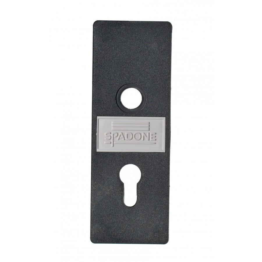 Plaque de propret partie fixe pour porte basculante for Plaque de proprete porte