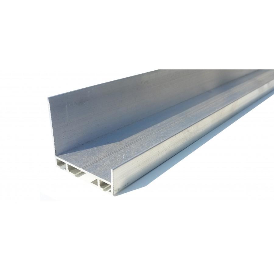 profil aluminium support joint boudin epdm pour porte de garage. Black Bedroom Furniture Sets. Home Design Ideas