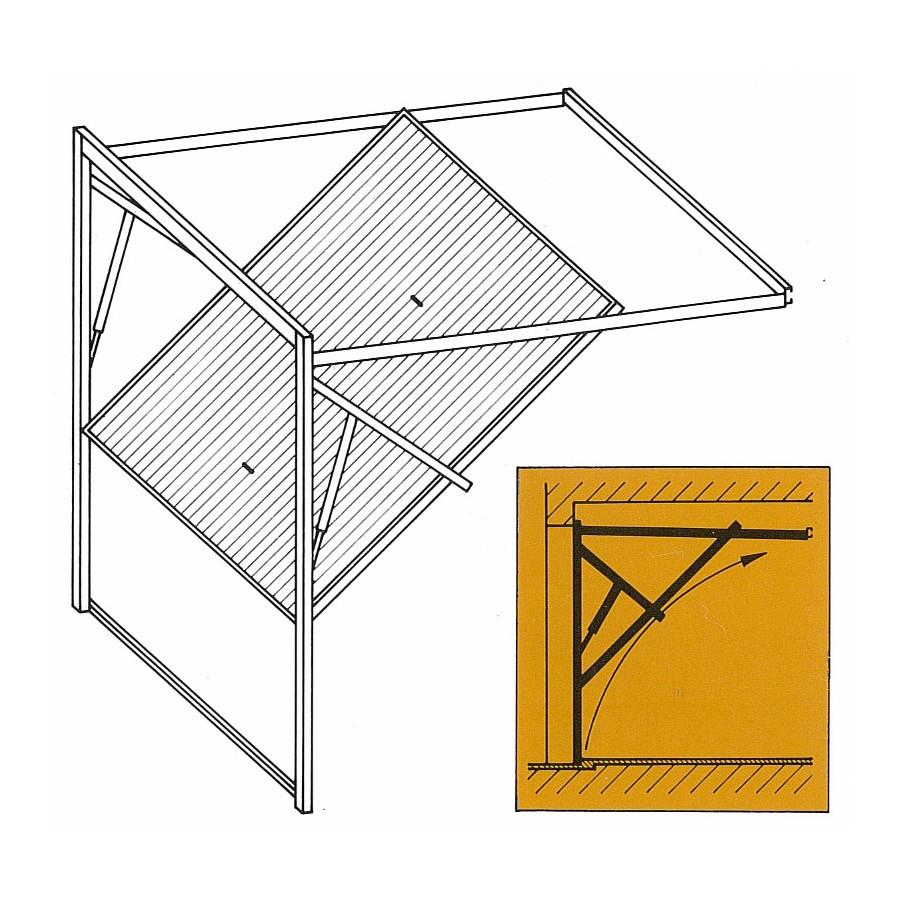 v rin gaz pour porte basculante axone spadone. Black Bedroom Furniture Sets. Home Design Ideas