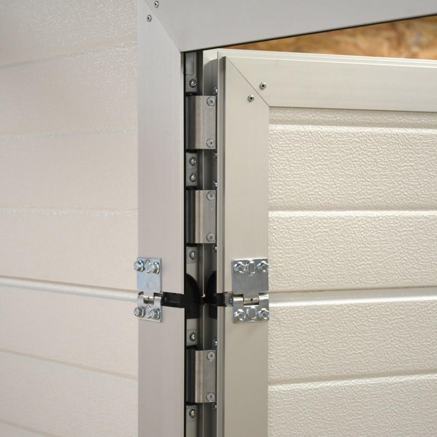 Porte de garage sectionnelle avec portillon pas cher for Porte de garage sectionnelle spadone