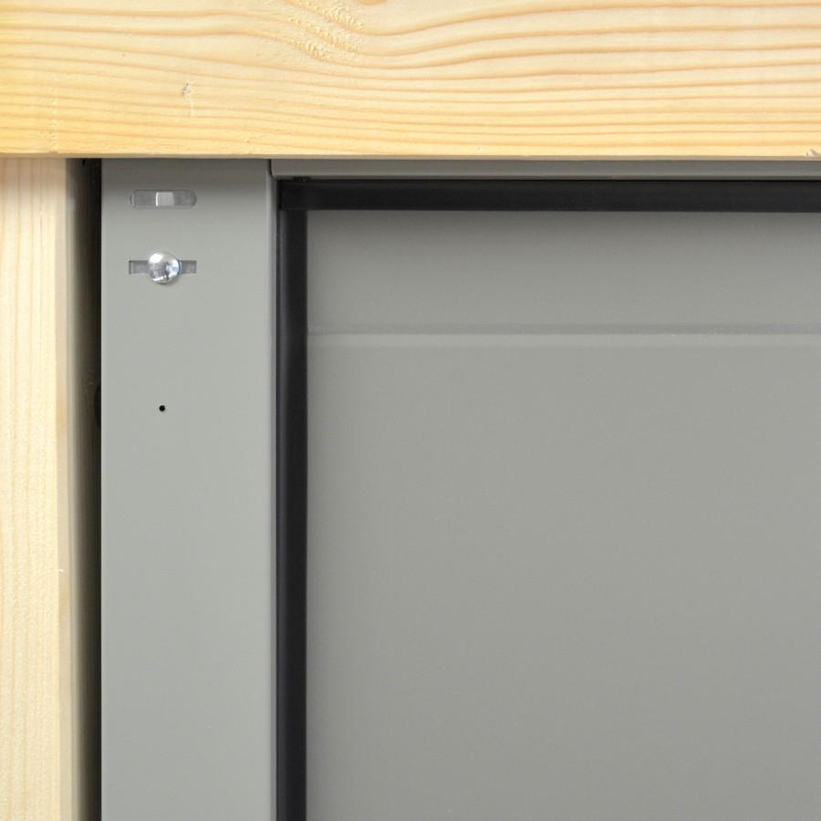 Porte de garage sectionnelle portillon for Porte de garage sectionnelle spadone