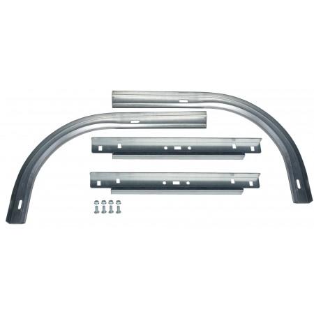 Petites courbes acier pour sectionnelle (la paire)