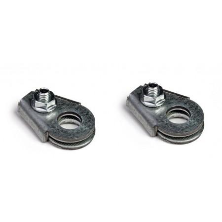 Accroche cable ajustable (la paire)