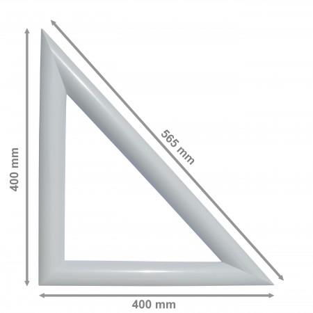 Cadre int / ext Hublot Triangle PVC