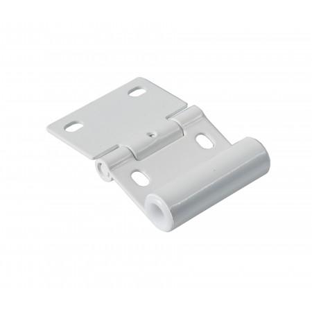Charnière Support Roulette Sectionnelle Blanc