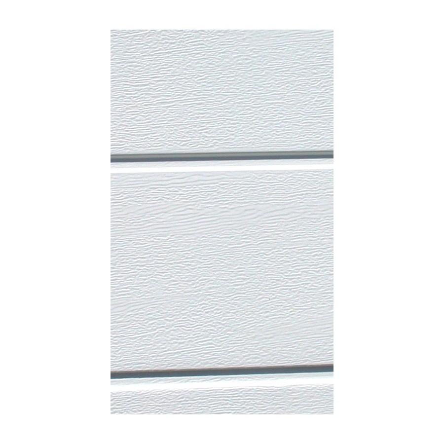 porte sectionnelle isol e rainure woodgrain blanche. Black Bedroom Furniture Sets. Home Design Ideas