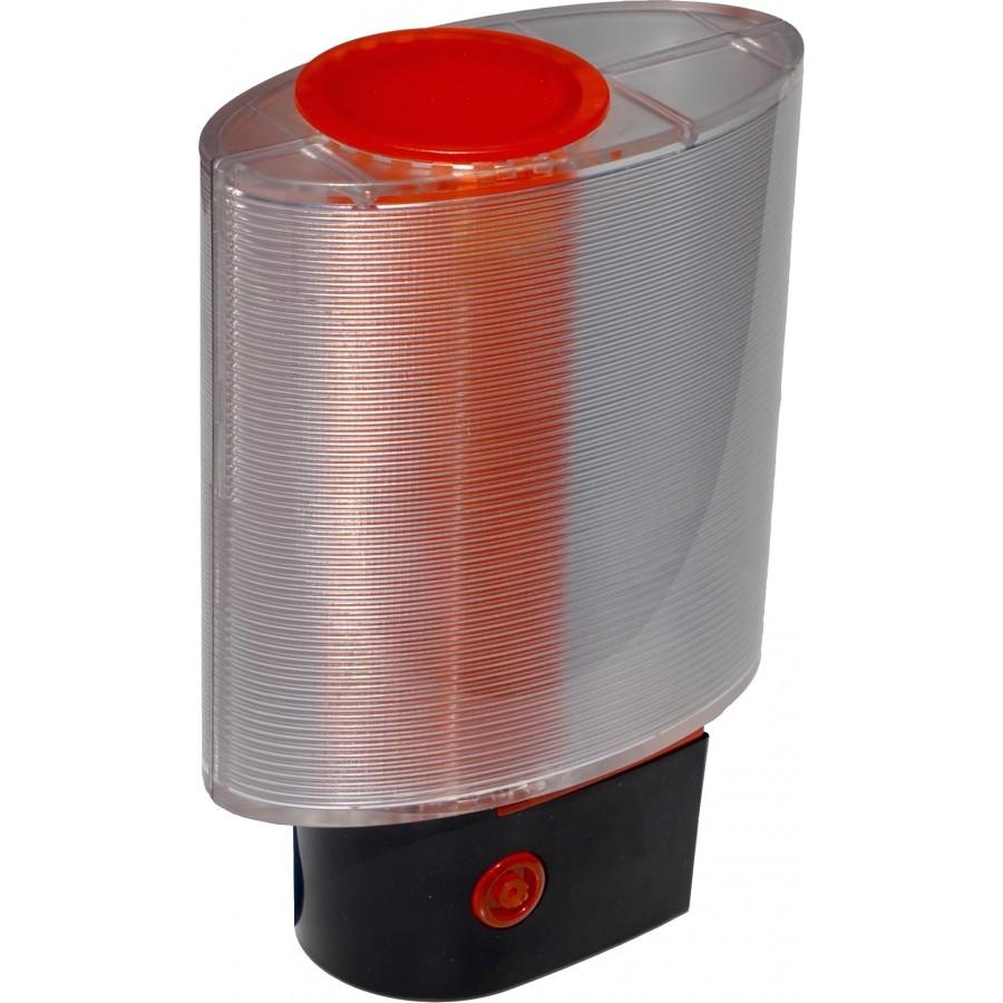 Feu clignotant de signalisation pour moteur one - Feu orange clignotant ...