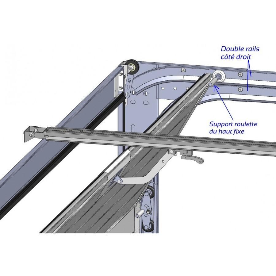 doubles rails horizontaux sectionnelle axone spadone. Black Bedroom Furniture Sets. Home Design Ideas