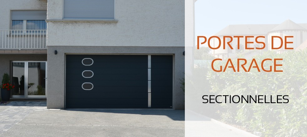 Porte de garage sectionnelle isol 60 mm petit prix for Porte de garage 60 mm