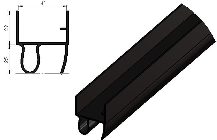 Joint Boudin PVC PEILLEX noir (3)