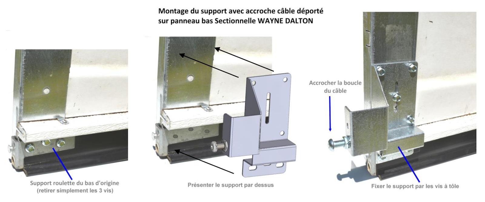 Remplacer un ressort torquemaster de porte wayne dalton - Motorisation porte de garage sectionnelle wayne dalton ...