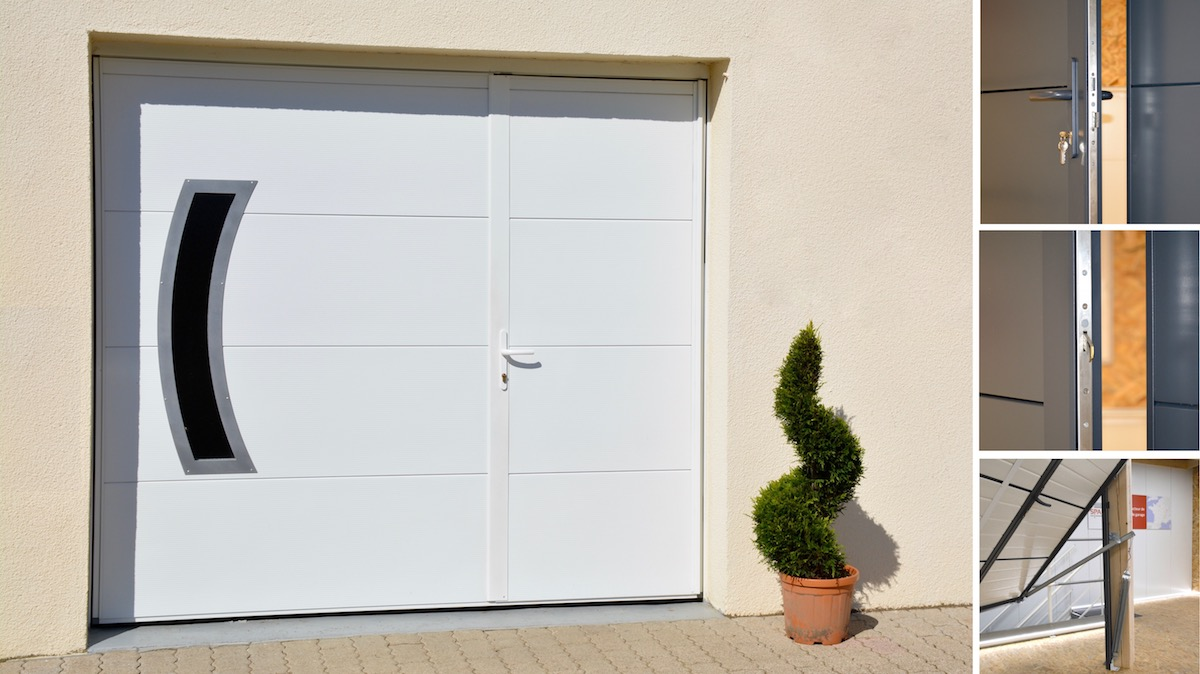 Porte de garage basculante Aura isolation 60 mm
