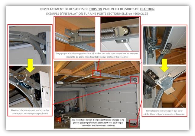 Kit De Remplacement Ressorts De Torsion Porte Isolee 40mm Axone Spadone