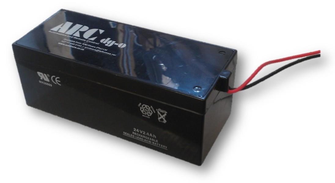 Batterie de secours pour opérateur de porte de garage