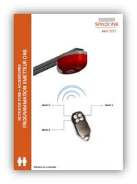 notice télécommande moteur one