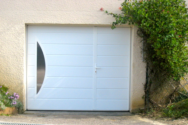 Fabricant de porte de garage basculante motoris e axone for Dimension portillon