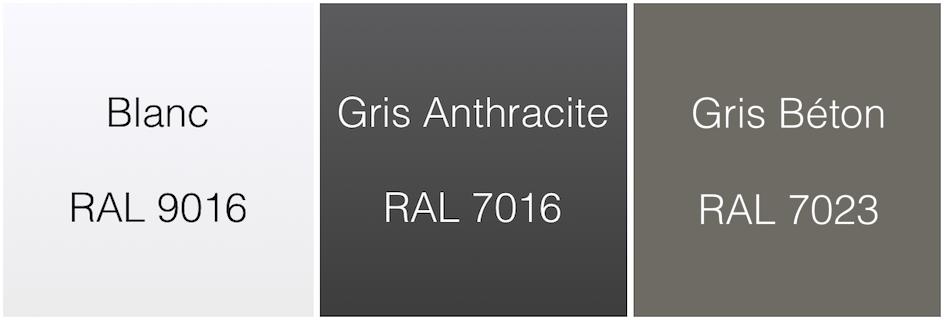 Fabricant de porte de garage sectionnelle motoris e - Gris ral 7016 ...