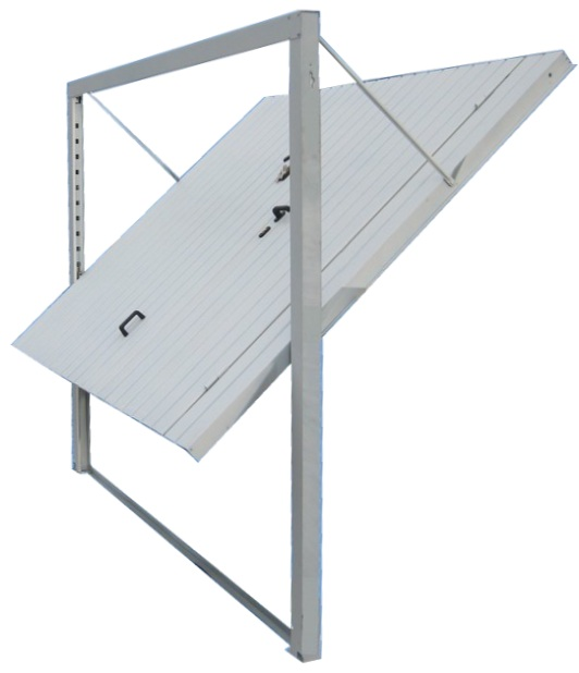 Porte de garage basculante facile poser axone spadone - Montage porte basculante ...