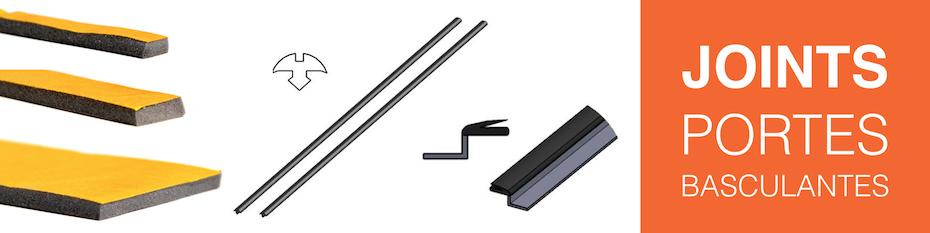 Joints pour portes de garage basculantes