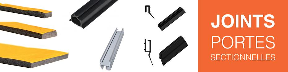 Joints pour portes de garage sectionnelles