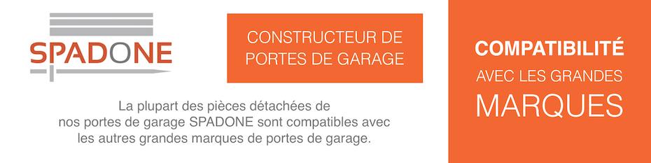 Pièces détachées portes de garage de grandes marques
