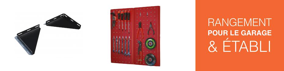 Garage and bench storage equipment