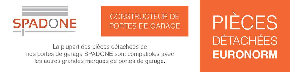 Pièces détachées pour porte de garage Euronorm