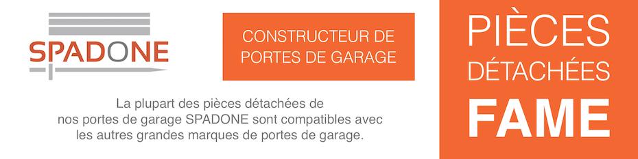 Pièces détachées pour porte de garage Fame