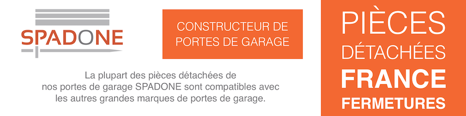 Pièces détachées pour porte de garage France Fermetures