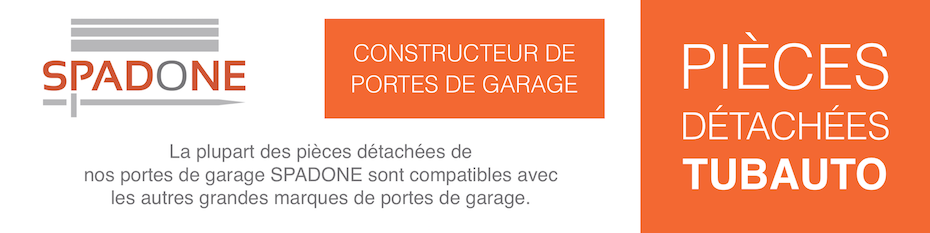 Pieces Detachees Pour Portes De Garage Tubauto Axone Spadone