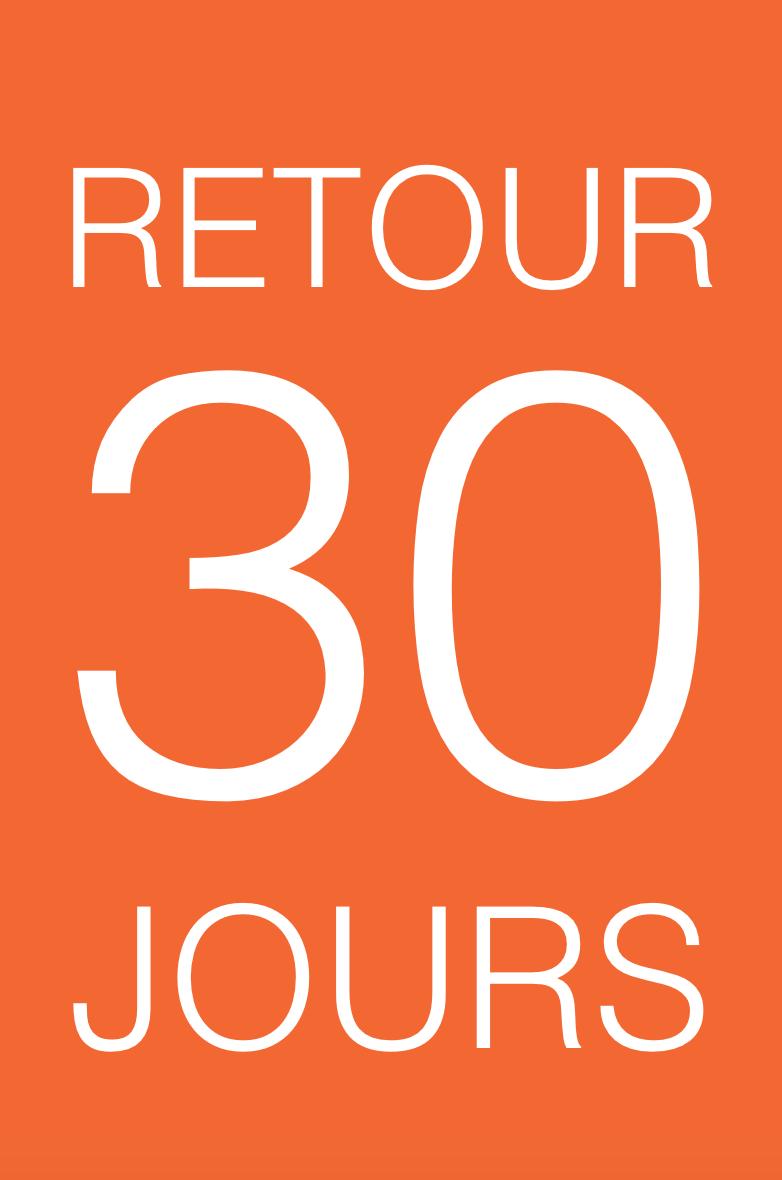 Retour possible pendant 30 jours